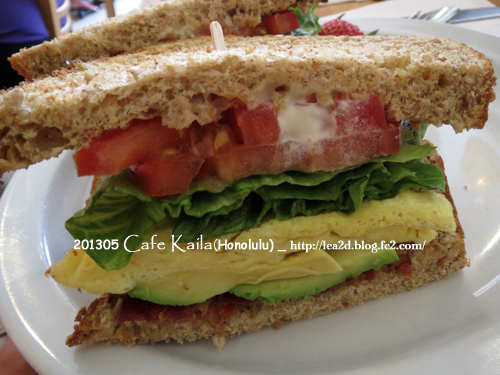 2013年5月 Cafe Kaila(Honolulu)- Sandwich