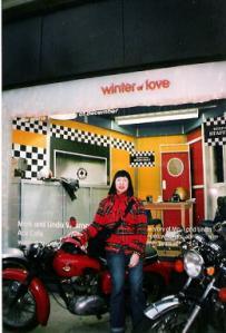 Hiroko at Selfridge