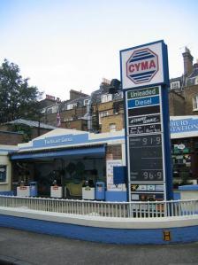 CYMA Petrol Station