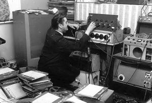 Joe Meek work place