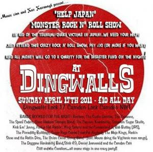 Dingwalls Help Japan