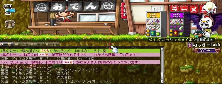 MAPLESTORY 2013-12-11 めいぽん