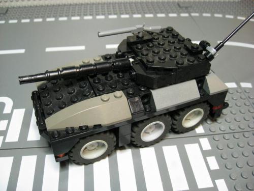ヘリ+装輪戦車 007