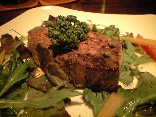 長崎産天然ブリのステーキ