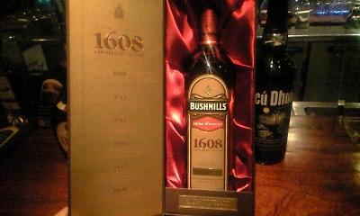 ブッシュミルズ400周年記念ボトル