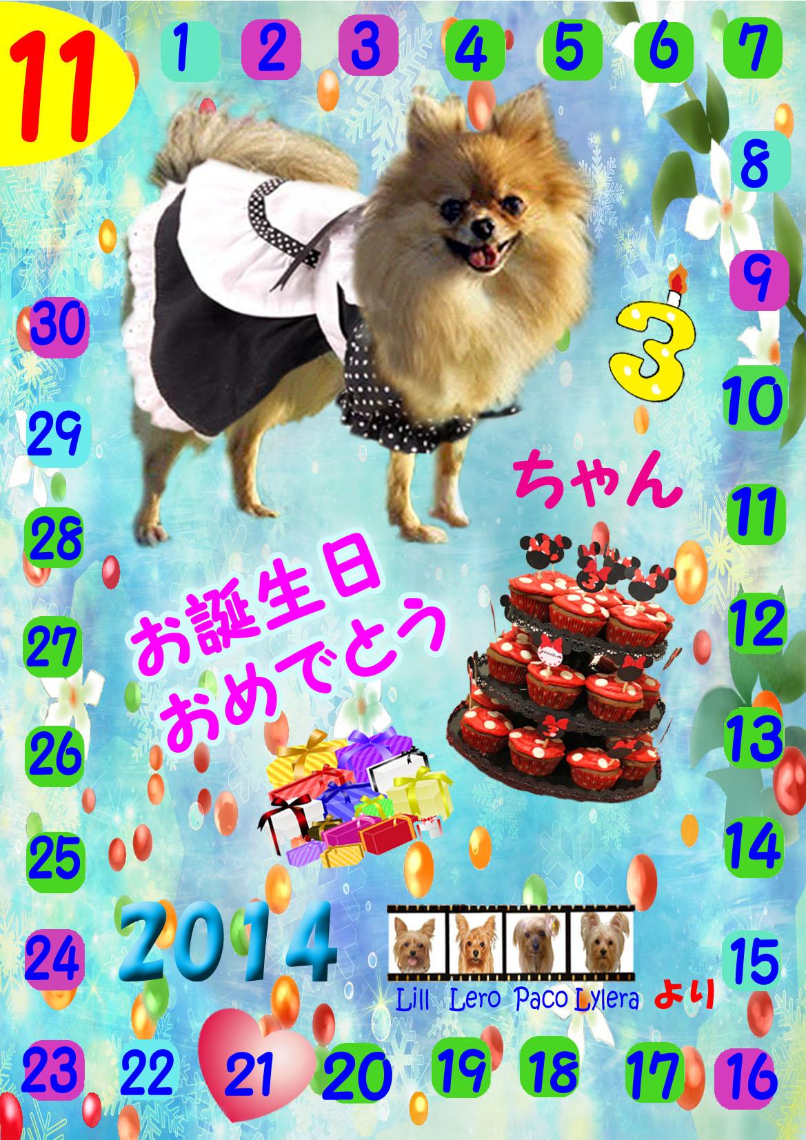 11-21-2014日菜子ちゃん誕生日カード のコピー