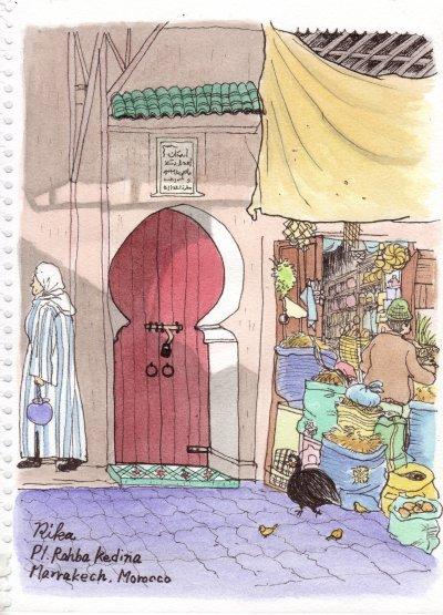 クディマ広場の扉