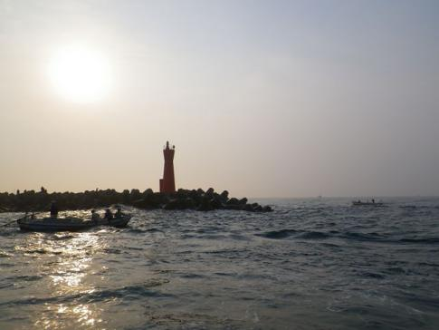 恒例の赤灯台