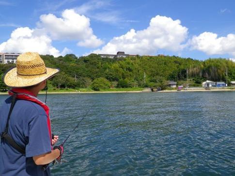 最高の湖内釣り日和