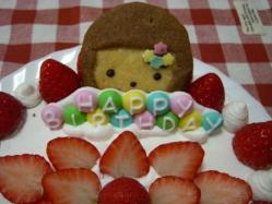 4歳ケーキ2