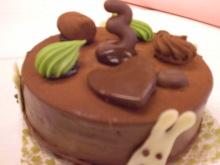 3月うさぎケーキ