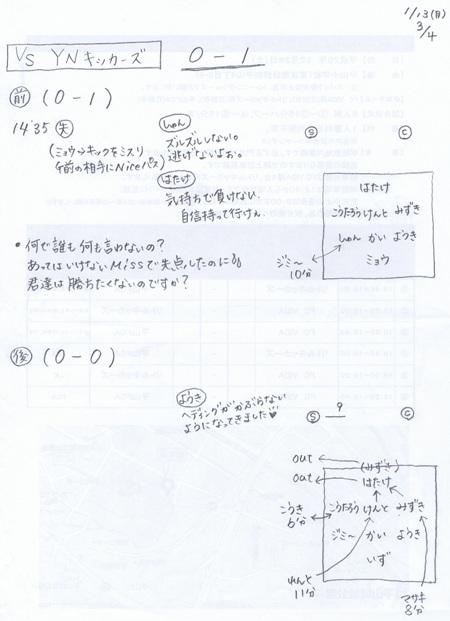 東寺方招待結果③YNK