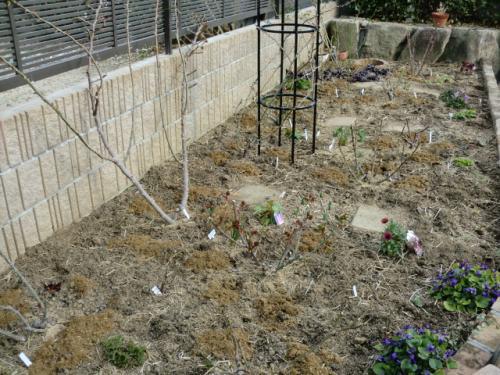 花壇春の施肥