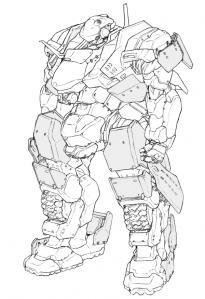 耐HEAT弾装甲処理例