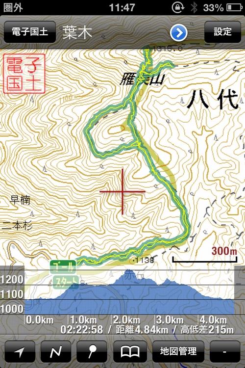 field access 雁俣山