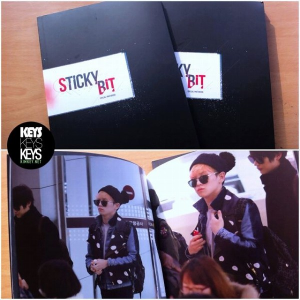 KEYSKEYSKEYS 2nd PHOTOBOOK STICKY BIT-2