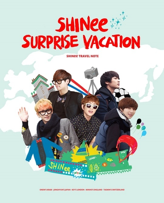 130525 SHINee SURPRISE VACATION-
