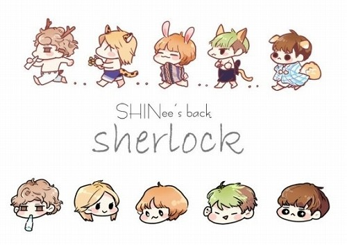 fanart-shinee member Sherlock