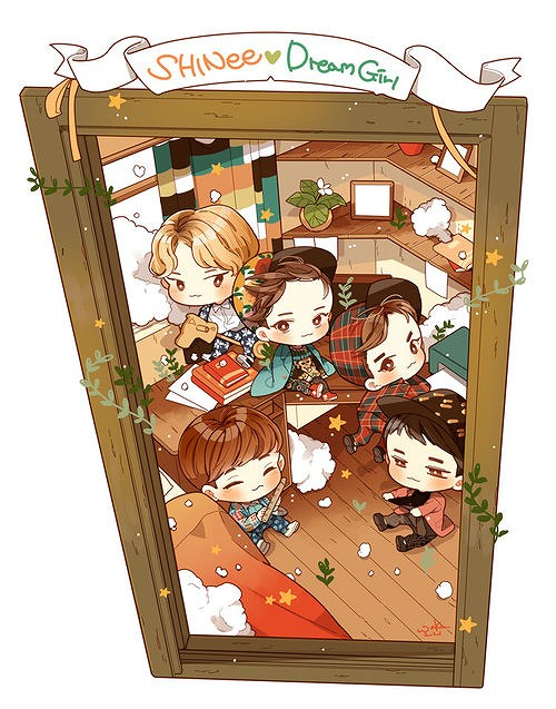 fanart-shinee Dream Girl-2