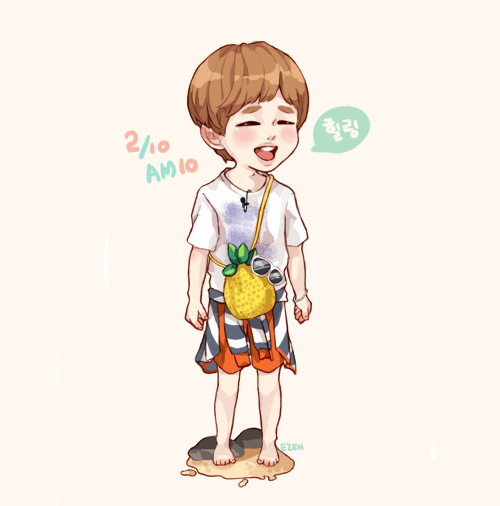 fanart onew shinee beautiful day