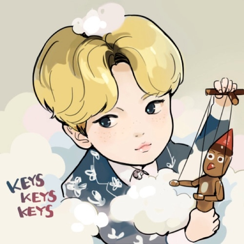 fanart Dream Girl-KEY