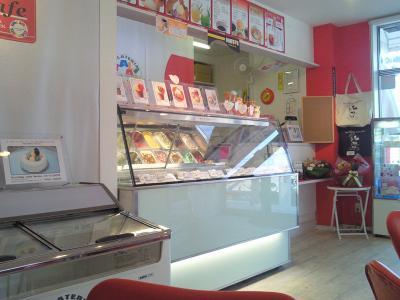Gcafe 店内