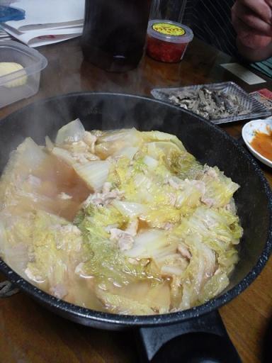 白菜の重ね鍋 001
