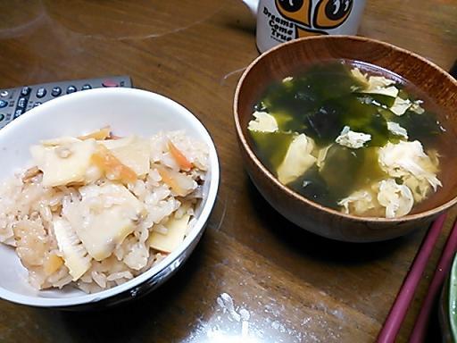 タケノコご飯 001