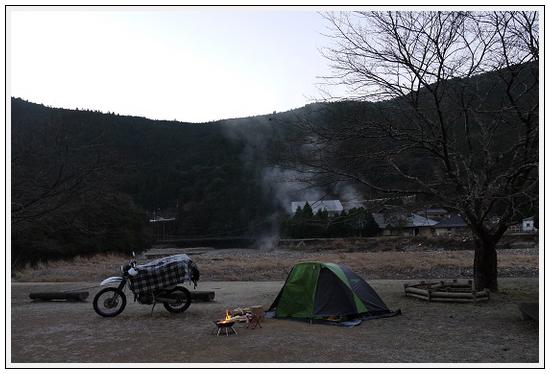 2014年1月6日~7日 本宮キャンプツーリング (14)