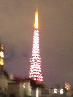と、東京タワーが...。
