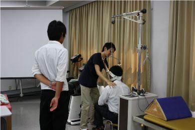 【理学療法士科】頚椎牽引の体験