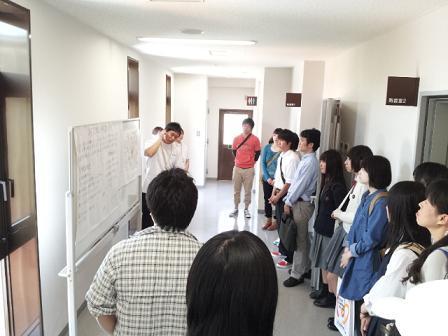 OC学内見学ツアー(2013.5.25)