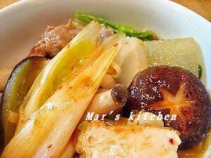 11-26キムチ鍋 取り皿