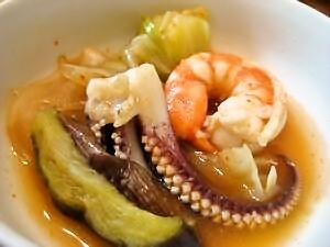 1-13 海鮮キムチ鍋