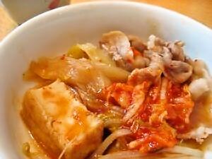 1-14 キムチ鍋