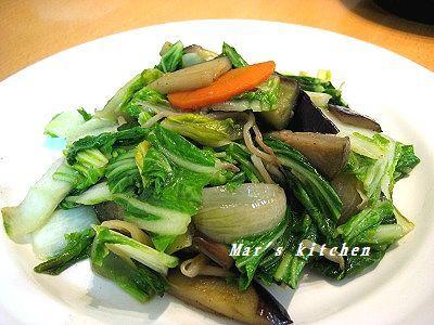 1-27 山東菜炒め
