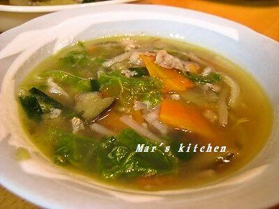 1-27 八宝菜スープ