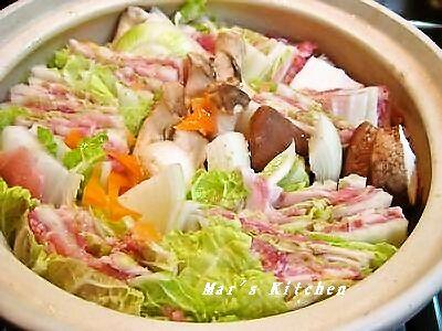2-9 豚野菜蒸し 生