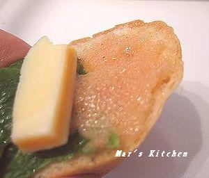 明太子カナッペ