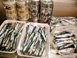 3-12 いわし・ビール