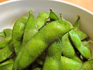 枝豆収穫(秘伝)