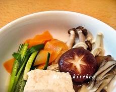 12-2豆腐きのこ鍋