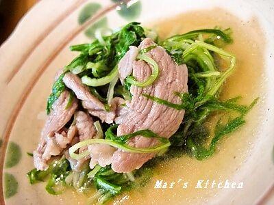 2-26 水菜の炒め煮
