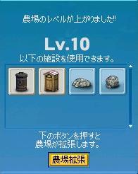 やっとレベル10^^