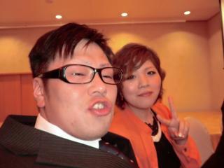 大阪からお越しの大親友とその彼女