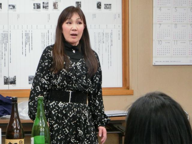 ソプラノ歌手森本隆子さん