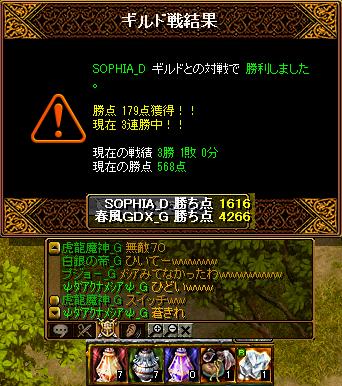 vsSOPHIA(青鯖)2