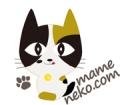 まめ猫logomike