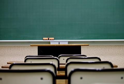 130424 教室と黒板