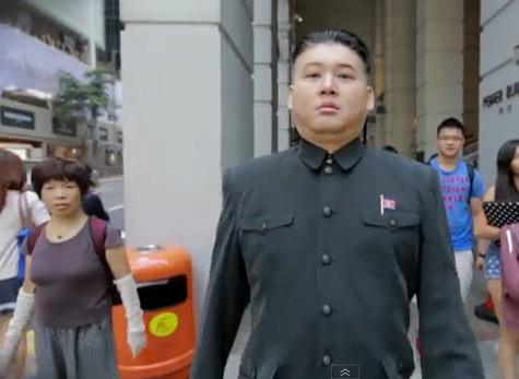 Worlds First Kim Jong-un Impersonator Wows Onlookers In Hong Kong